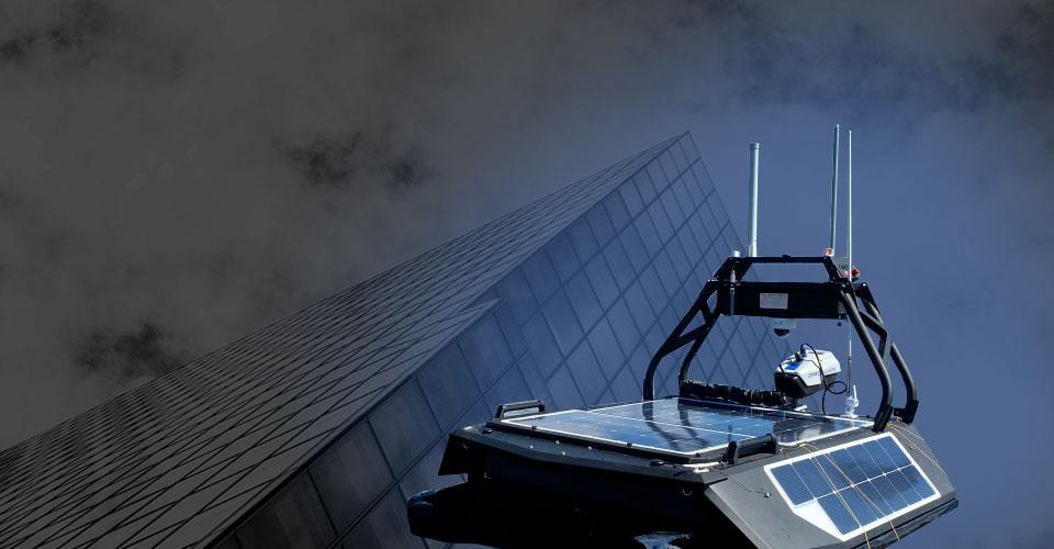 Первый тест-заезд робота-беспилотника в Санкт-Петербурге